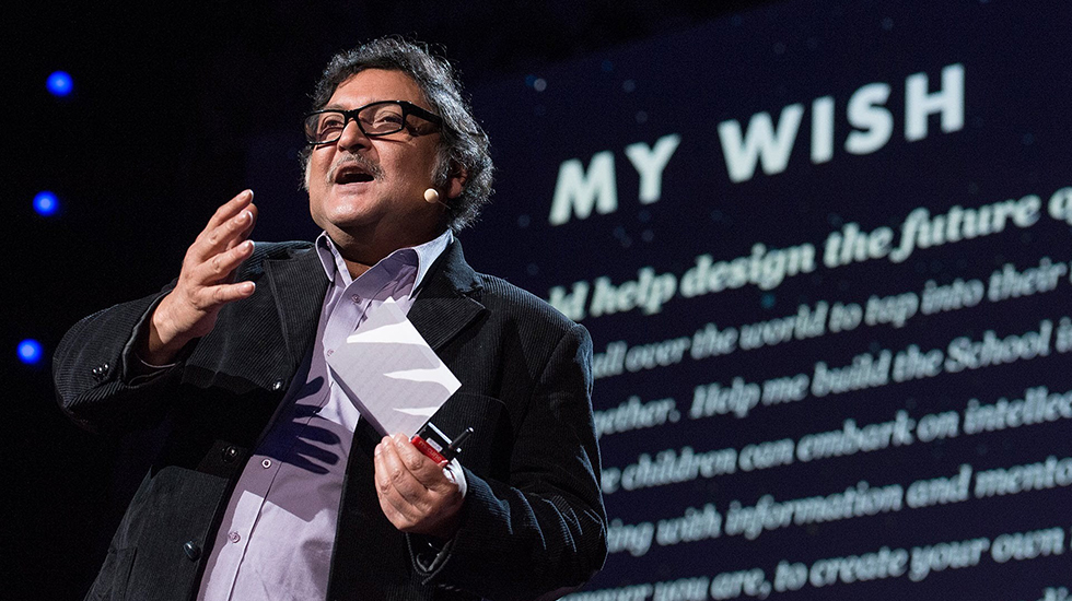 Hole in the Wall, Dr. Sugata Mitra