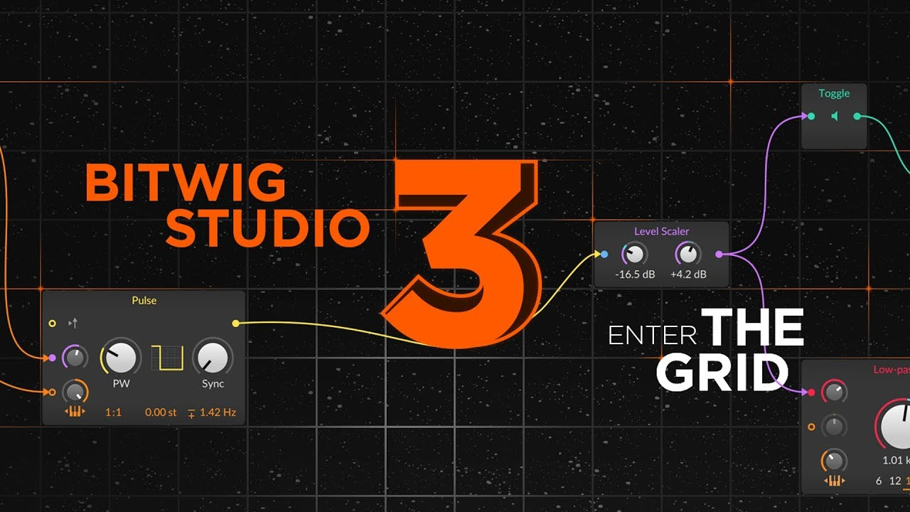 The Grid, Bitwig Studio